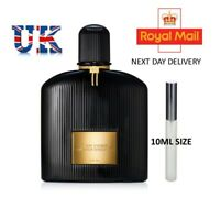 TOM FORD BLACK ORCHID EDP– 10ml ATOMISER - TRAVEL - SAMPLE - DECANTED