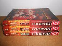 Diabolo vol. 1 2 3 Manga Graphic Novel complete lot Book in English