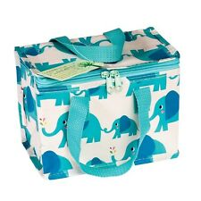 dotcomgiftshop ELVIS THE ELEPHANT FOIL INSULATED RECYCLED PLASTIC LUNCH BAG