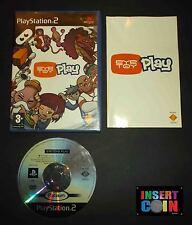 JUEGO  EYE TOY PLAY  PLAYSTATION 2   PS1 PS2 PS3