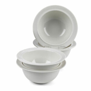 Alessi COMBO-3347 La Bella Tavola Porcelain Cereal/Soup Bowls, 16 cm, Set of 12