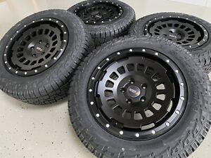 Twin Monotube AT Offroad Felge für VW T5 T6 8x17 ET40 Radsatz All Terrain Reifen