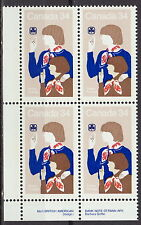 CANADA #1062 34¢ Canadian Girl Guides LL Plate Block MNH