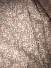 Ralph Lauren Floral Cotton King Bed Skirt Gently Used Bedding Linens Flowers