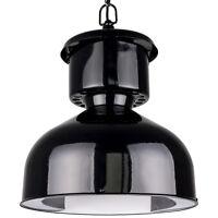 Alte große Fabriklampe - komplett renoviert - LOFT BAUHAUS FABRIK lampe