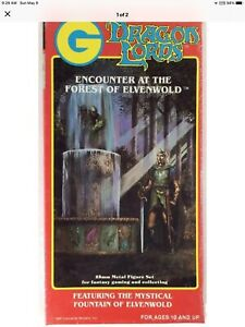 Grenadier Encounter At The Forest Of Elvenwold #2029 NO Box Rare OOP