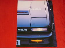 NISSAN Silvia S12 Prospekt Brochure von 1984