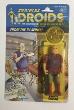 """DROIDS """"JORD DUSAT"""" Star Wars Kenner 1985 MOC Coin Awesome !"""