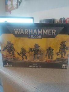 ORKS: STORMBOYZ Warhammer 40k Games Workshop Free postage!