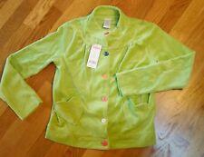 10 11 12 years Girls Large Gymboree Little Hearts Button up Plush LS Jacket NWT