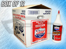 LUCAS 10121 SAE 75W-140 GEAR OIL, TRANS & DIFF LUBE - BOX OF 12 BOTTLES
