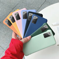 For Samsung Galaxy Note 20 10 S20 Ultra Shockproof Frameless PC Hard Case Cover