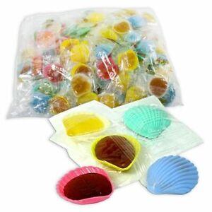 Großpack Schleckmuscheln, 100 leckere Muscheln, Süßigkeiten Kindergeburtstag