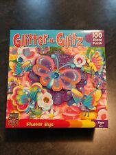 Glitter 'n Glitz: Flutter Bys 100 Piece Puzzle MasterPieces
