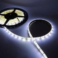 TIRA DE LEDS DE 5 M LEDS SMD 3528 LUZ BLANCA CALIDA 12V 4,8W/M 300 LED