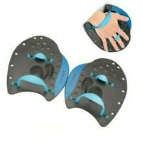 Swimming Contour Silicone Hand Paddles Training Workout Pool Aid for Kid Adult