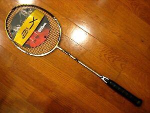 Wilson BLX Matrix Badminton Racquet - Brand New! - STRUNG