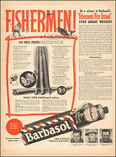 1950 Vintage ad for Barbasol Shaving cream`Contest Fishing Photo Retro   052317)
