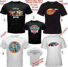 Shirt All Size Adult S-5XL Kids Infant Paw Patrol Blaze and The Monster Machines