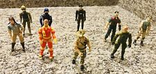 """Incredible Lot GI Joe 3.75"""" 8 Action Figures  1982-1984 with Cards/Accessories"""