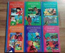 6 BOOKS 12 STORIES, THREE LITTLE PIGS, ELEPHANTS CHILD, PINOCCHIO, JUNGLE BOOK,+