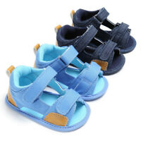 Toddler Baby Boys Canvas Infant Kids Girl boys Sole Crib Toddler Sandals Shoes
