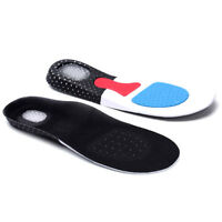 Unisex Orthotic Support Shoe Pad Sport Running Gel Insoles Insert Cushion Kit