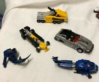 Lot of G1 1980's Transformers for Parts or Repair