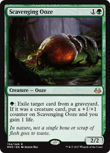Scavenging Ooze NM Rare Green creature MTG Magic The Gathering
