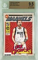 Luka Doncic 2019-20 Panini Donruss Net Marvels Mint Case Hit SSP BGS 9.5 Gem