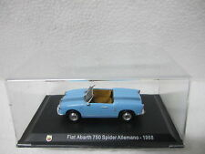 Fiat Abarth 750 Spider Allemano 1958 -ESC-1/43-ABARTH COLLECTION -HACHETTE -CARS