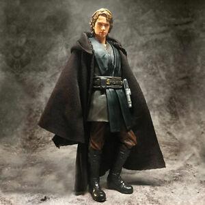 1/12th SHF Star Wars Anakin Skywalker Jedi Knight Black Cloth Robe (no figure)