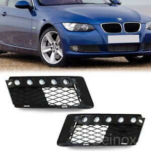 07-09 BMW E92 E93 3 Series LED Daytime Running DRL Light Bumper Cover Lamp 2x