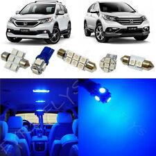 10x Blue LED interior lights package kit for 2013-2016 Honda CRV HV3B
