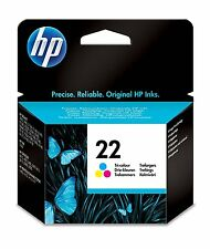 Original HP 22 Colour Ink Cartridge Deskjet F375 F380 F2180 F2224 C9352AE F4190