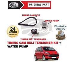 FOR PEUGEOT 1007 75BHP 1.4 8V 2005-2010 NEW TIMING CAM BELT KIT + WATER PUMP
