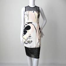 SHONA JOY Size 6 US 2 EUR 34 Sleeveless Sheath Dress Made in Australia