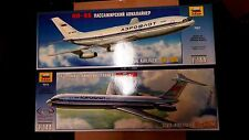 Zvezda Special Ilyushin Deal 2 IL Airliners 7001 & 7013 (IL 86 and IL 62M) 1/144