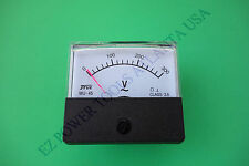 MU45 MU-45 120V 240V AC Panel Meter Voltmeter for China Gas Diesel Generator