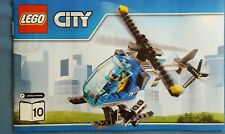 2 x LEGO City Helicopter and Pilot taken from set 60097 - NO BOX