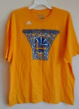Golden State Warriors Adidas NBA Basketball Hoop T-Shirt 2-XL Team Shirt-EUC!!