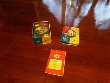 COMPLETE Cranium ZIGITY Card Game w/ Metal Tin Case Instructions