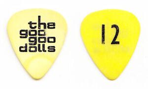 Vintage Goo Goo Dolls John Rzeznik 12 Yellow Tour Guitar Pick