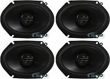 """4) Pioneer TS-G6820S 500W Max 6x8"""" G-Series 2-Way Coaxial Car Audio Speakers"""