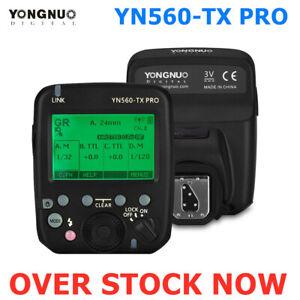 Yongnuo YN560TX PRO Flash Trigger Wireless transmitter For Canon Nikon YN200