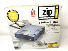 Iomega Zip 100 Parallel Port 3 Drives In One Z100P2