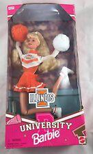 University Of Illinois, Cheerleadrer Barbie Doll! 1997