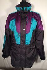 Vintage Couloir Entrant Women's Ski Hooded Jacket Coat Waterproof Insulated Sz 6