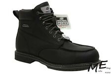 "New Skechers On Site - Torre 6"" Comp. Toe Leather Men Boots Sz 11.5 - 77025"