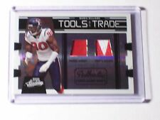 2009 Absolute Tools of the Trade Dual Jersey Patch Mario Williams /50 Texans